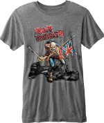 Iron Maiden Trooper Vintage Gris 26,80€