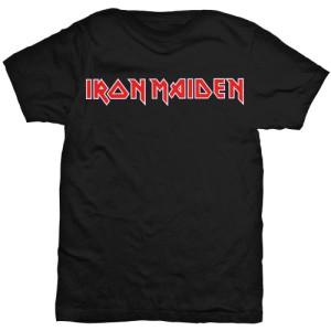 Iron Maiden Logo Negra