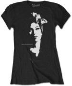 Amy Winehouse Ladies Tee: Scarf Portrait 24€