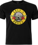 Guns N' Roses Men's Fashion Tee: Circle Logo 24€