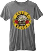Guns N' Roses Men's Fashion Tee: Circle Logo (Burn Out) 26,80€
