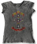 Guns N' Roses Ladies Fashion Tee: Appetite for Destruction (Acid Wash Finish) 26,80€