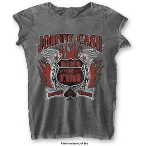 Johnny Cash Chica  Fashion : Ring of Fire