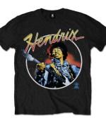 Jimi Hendrix Men's Tee: Script Circle 24€