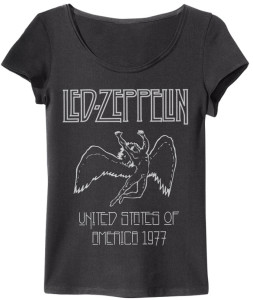 LED ZEPPELIN 77 Chica Amplified