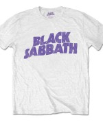 Black Sabbath Unisex Tee: Wavy Logo Vintage 24€