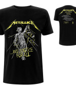 METALLICA UNISEX TEE: AND JUSTICE FOR ALL TRACKS (BACK PRINT) Camiseta Negro 24€